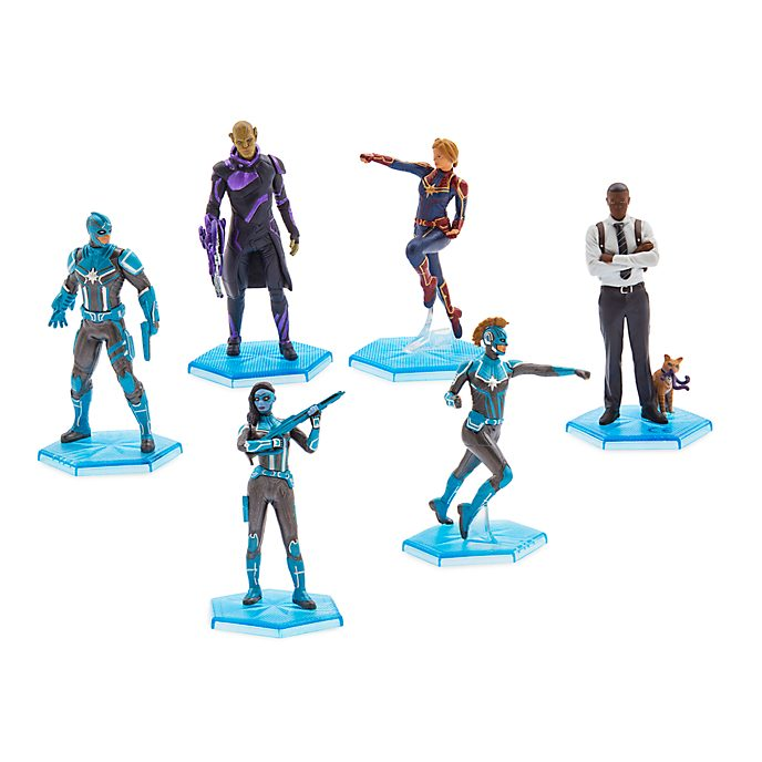 Set da gioco personaggi Captain Marvel Disney Store