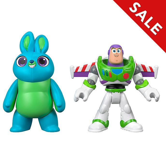 Imaginext - Toy Story4 - Buzz Lightyear und Bunny - Actionfiguren