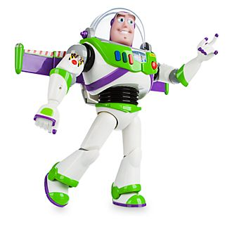 Disney Store Buzz Lightyear Interactive Talking Action Figure