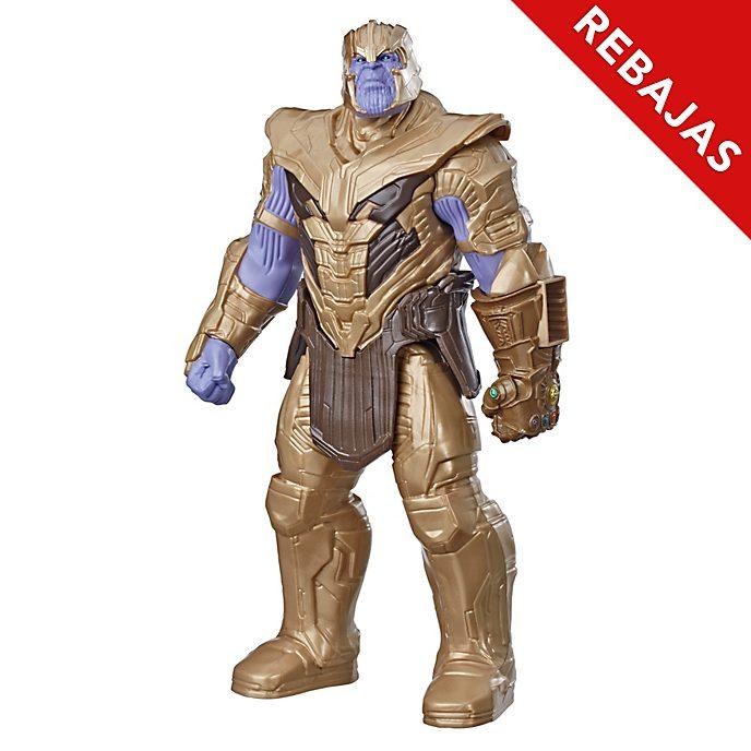 Figura acción Thanos, Vengadores: Endgame, Titan Hero Power FX, Hasbro