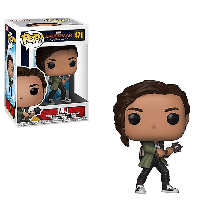 Funko Figurine MJ Pop! en vinyle, Spider-Man: Far From Home