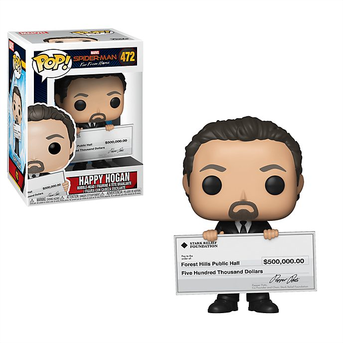 Funko - Happy Hogan - Pop! Vinylfigur, Spider-Man: Far From Home