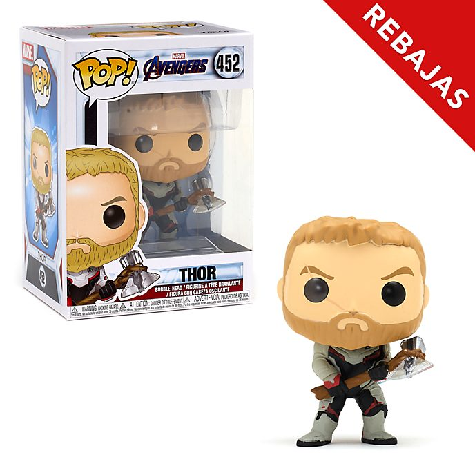 Figura de vinilo Thor, Vengadores: Endgame, Pop!, Funko