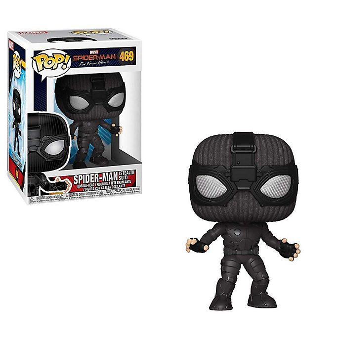 Funko Spider-Man Stealth Suit Pop! Vinyl Figure