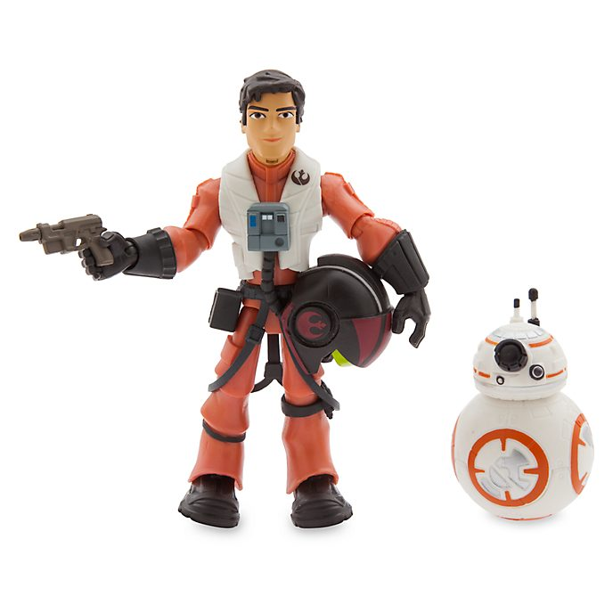 Disney Store Star Wars ToyBox Poe Dameron Action Figure