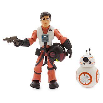 Action Figure Poe Dameron Star Wars ToyBox Disney Store