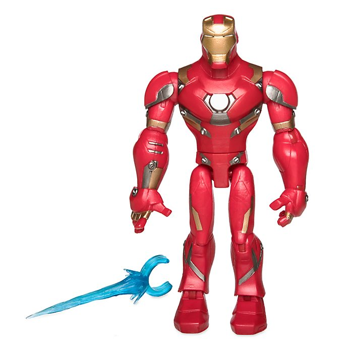 Disney Store Marvel Toybox Iron Man Action Figure