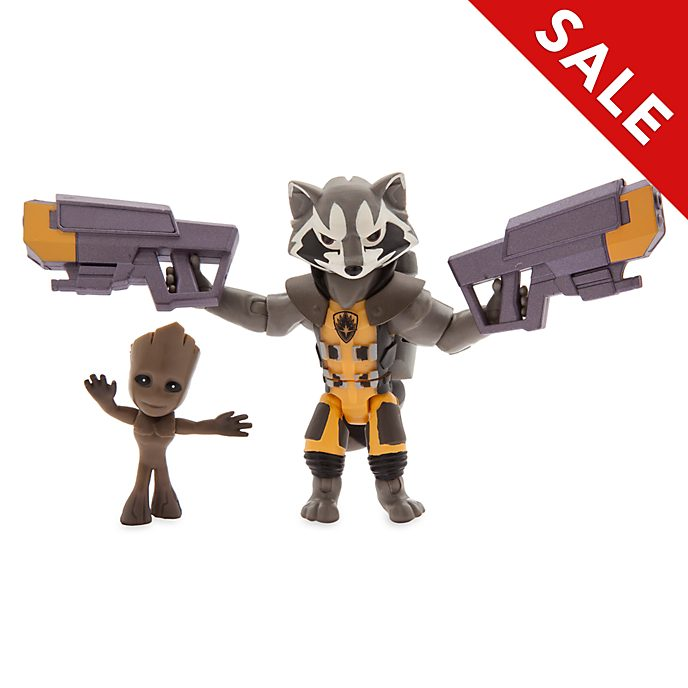 Disney Store Marvel ToyBox Rocket Action Figure