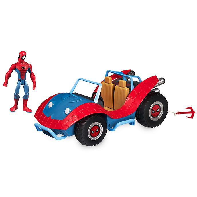 Disney Store Coffret Spider-Man et la Spider-Mobile, Marvel Toybox