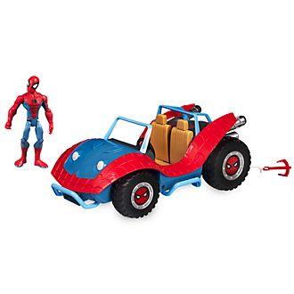 Disney Store Coffret Spider-Man et la Spider-Mobile, Marvel Toybox