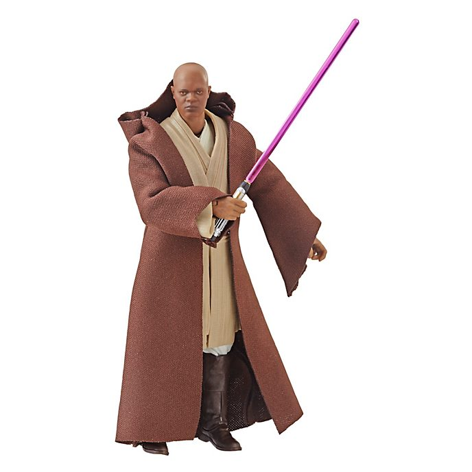 Hasbro Figurine Mace Windu articulée de 15 cm, Star Wars: The Black Series