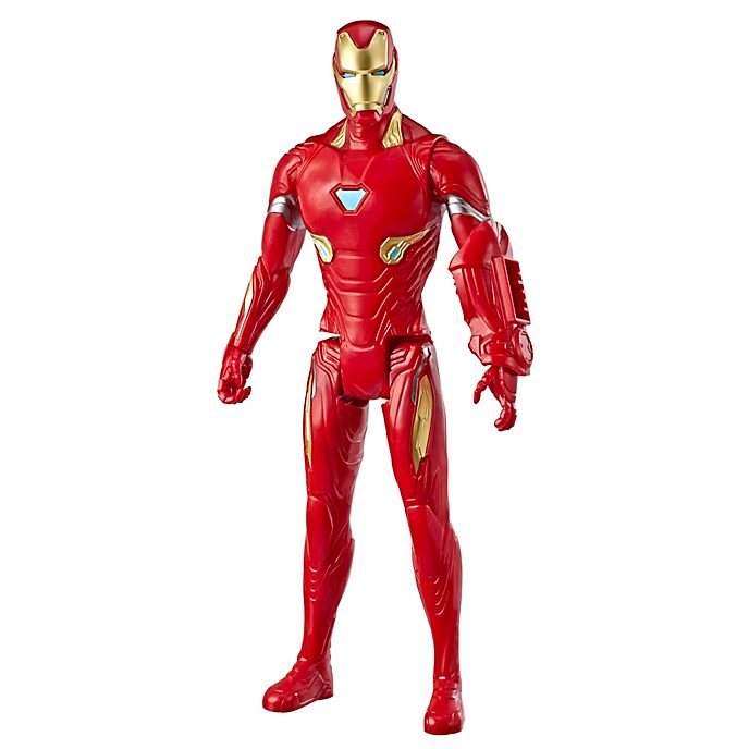 Figura acción Iron Man, Titan Hero Power FX, Hasbro