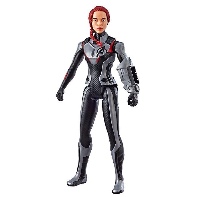Figura acción Viuda Negra, Titan Hero Power FX, Hasbro
