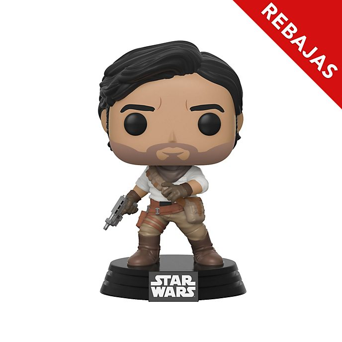 Funko Pop! figura vinilo Poe Dameron, Star Wars: El Ascenso de Skywalker