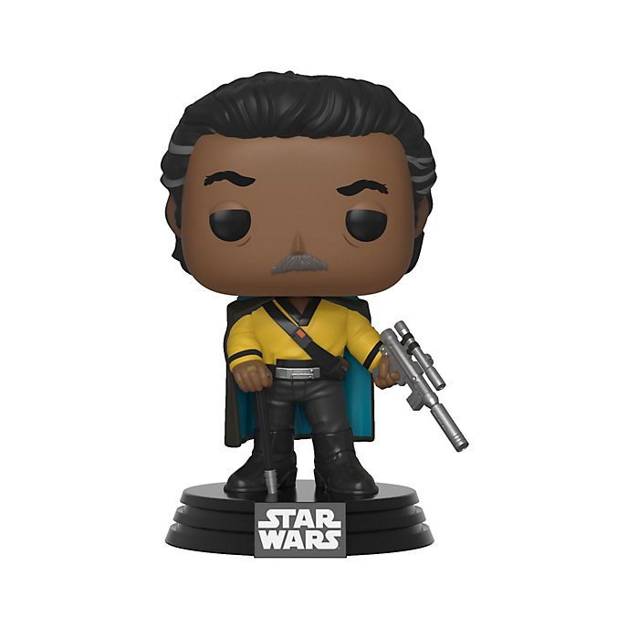 Funko Pop! figura vinilo Lando Calrissian, Star Wars: El Ascenso de Skywalker