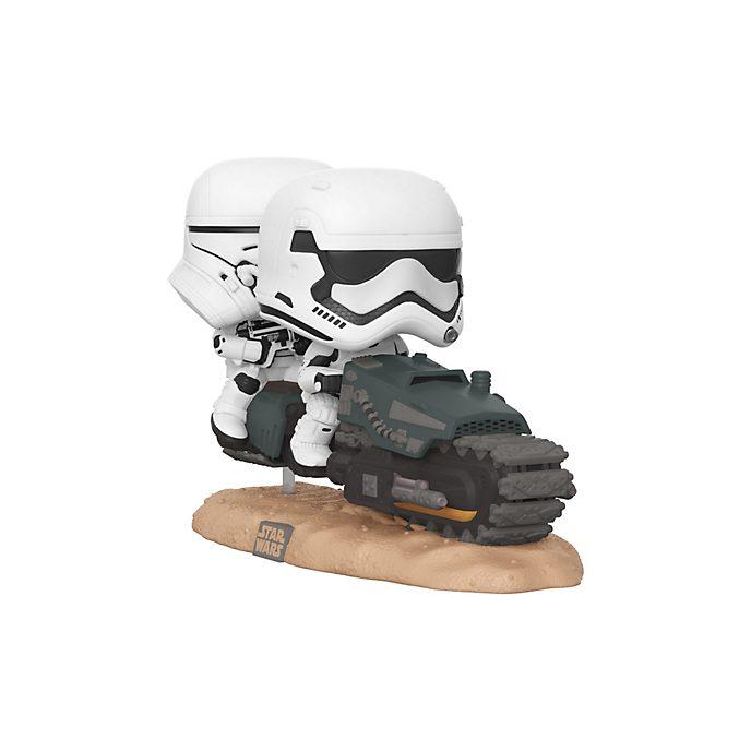 Funko Pop! figura vinilo soldado explorador con moto speeder, Star Wars