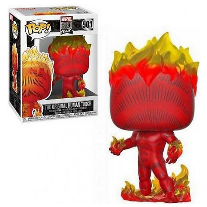 Funko The Human Torch 80th Anniversary First Appearance Pop! Vinyl Figure