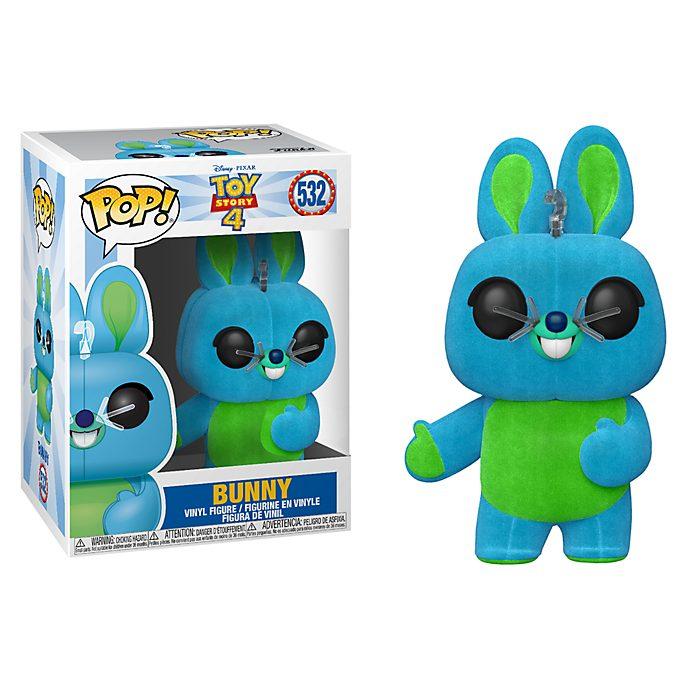 Personaggio in vinile Bunny con finitura floccata serie Pop! di Funko, Toy Story 4
