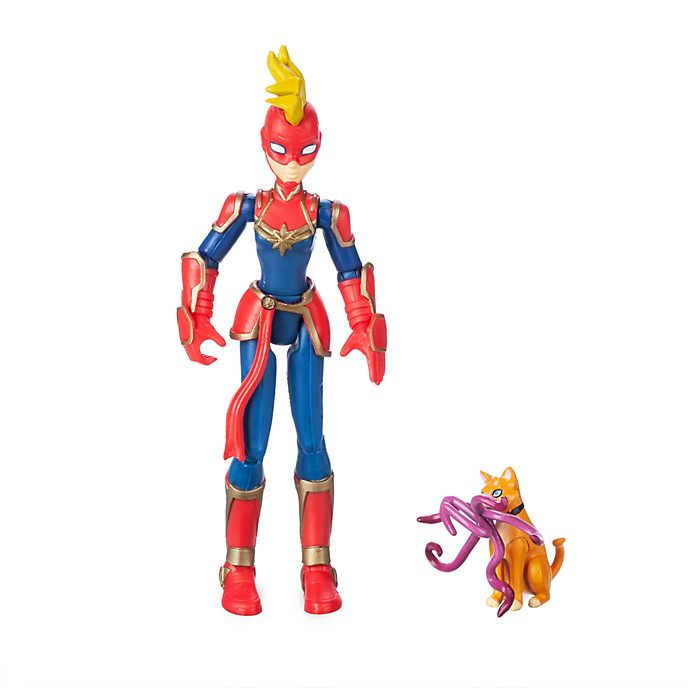 Disney Store Figurine Captain Marvel, Marvel Toybox