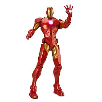 Disney Store Iron Man Talking Action Figure