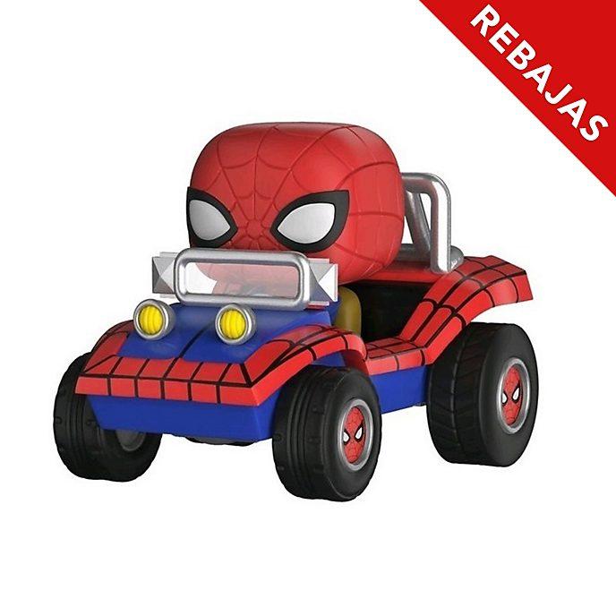 Funko, figura vinilo Pop! Spider-Man con coche