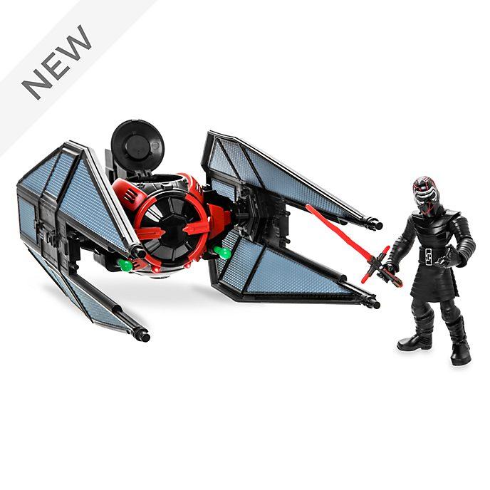 Disney Store Star Wars Toybox TIE Fighter and Kylo Ren Playset