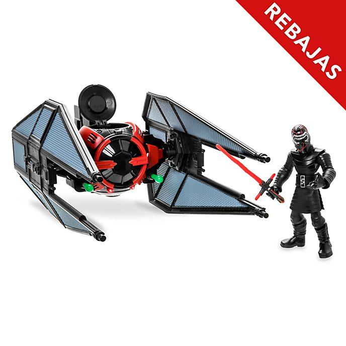 Set juego caza TIE y Kylo Ren, Star Wars Toybox, Disney Store
