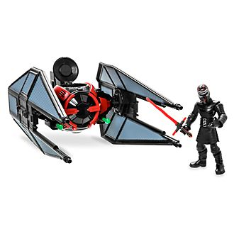 Disney Store Star Wars Toybox TIE Fighter and Kylo Ren Playset