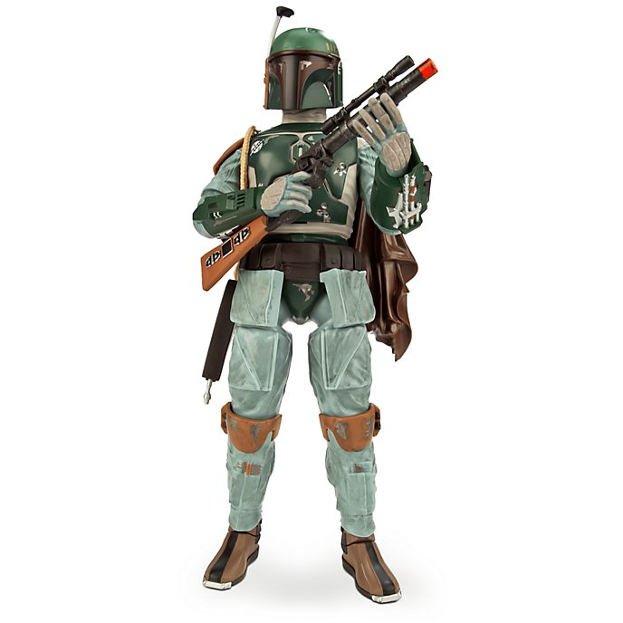 Disney Store Boba Fett Talking Action Figure, Star Wars
