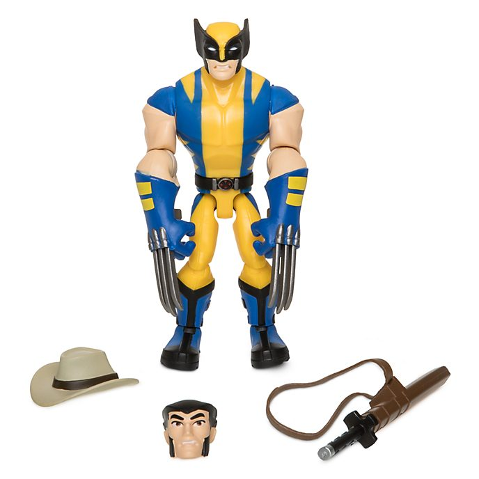 Action Figure Wolverine Marvel Toybox Disney Store