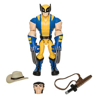 Action Figure Wolverine Marvel Toybox Disney Store