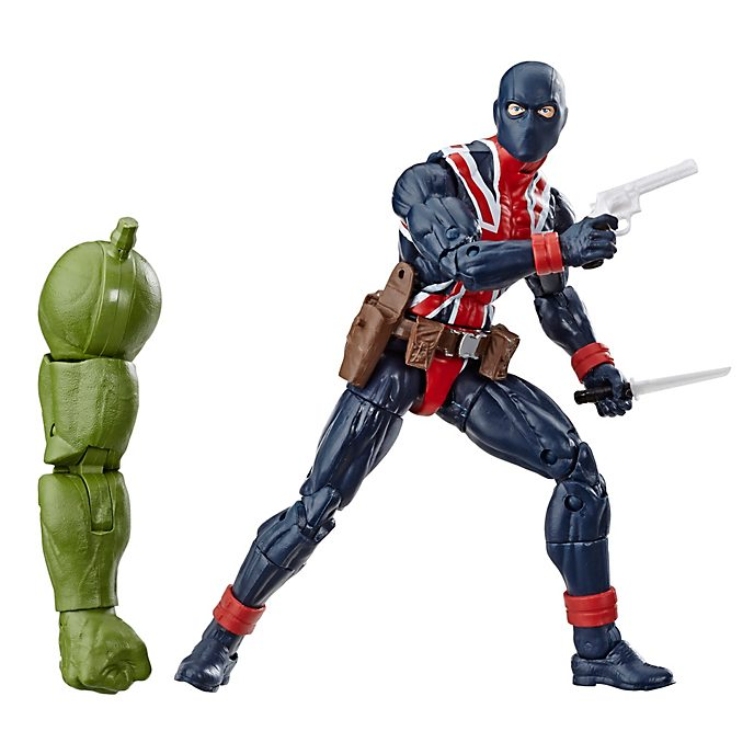 Hasbro Figurine Union Jack articulée 15 cm, Marvel Legends