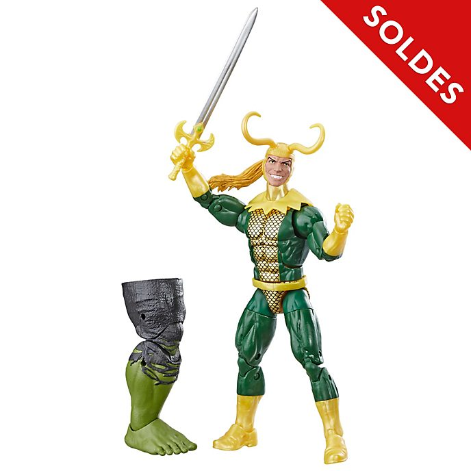 Hasbro Figurine Loki articulée 15 cm, Marvel Legends