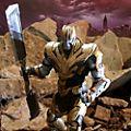 Muñeco acción coleccionista Thanos, Marvel Select