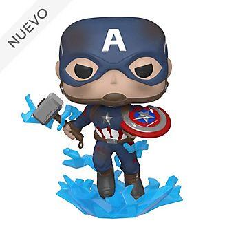 Funko Pop! figura Capitán América con escudo roto de vinilo