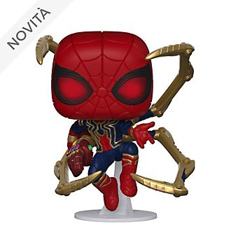 Personaggio in vinile Iron Spider con guanto nano serie Pop! di Funko