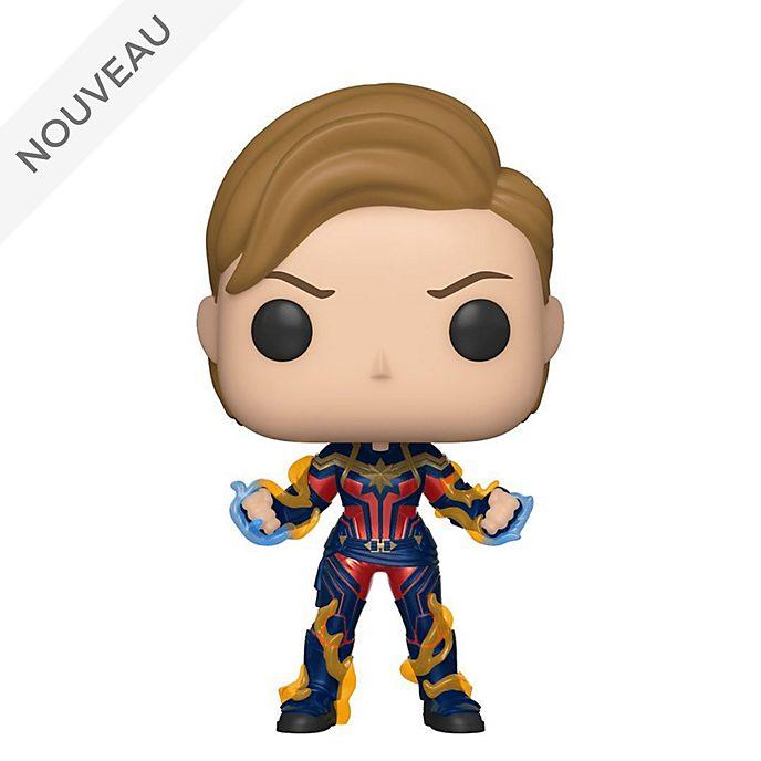 Funko Figurine Captain Marvel avec sa nouvelle coiffure Pop! en vinyle