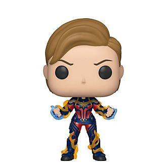 Funko Pop! figura Capitana Marvel con nuevo peinado de vinilo