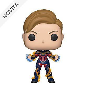 Personaggio in vinile Capitan Marvel con nuovo taglio di capelli serie Pop! di Funko