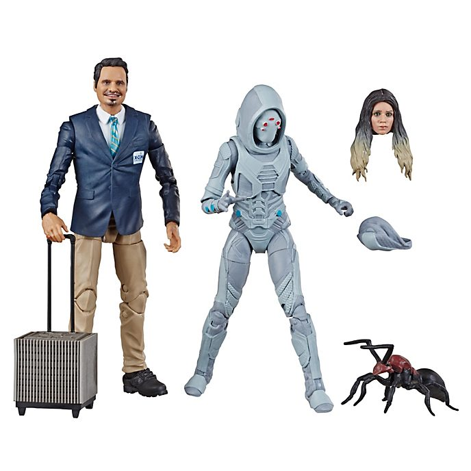 Hasbro - Luis und Ghost - Legends Actionfigurenset, 15 cm