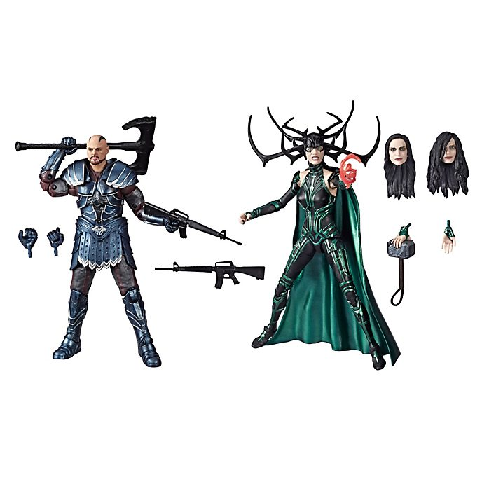 Hasbro Skurge and Marvel's Hela Legends 6'' Action Figure Set