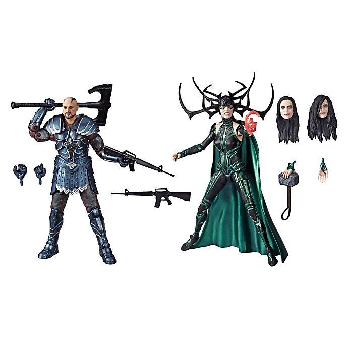 Hasbro - Skurge und Hela - Legends Actionfigurenset, 15cm