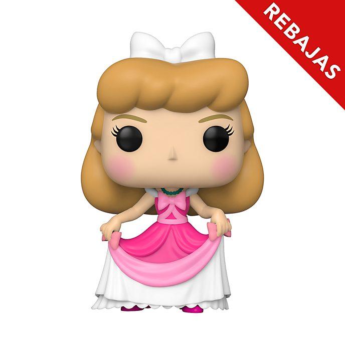 Figura vinilo La Cenicienta con vestido rosa Funko Pop