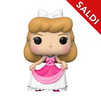 Personaggio in vinile Cenerentola con vestito rosa serie Pop! di Funko
