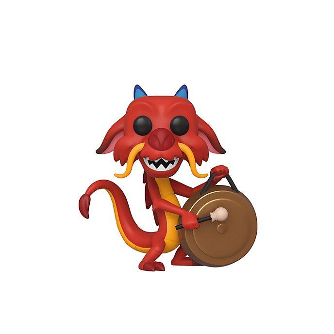 Funko Figurine Mushu avec gong Pop!en vinyle, Mulan