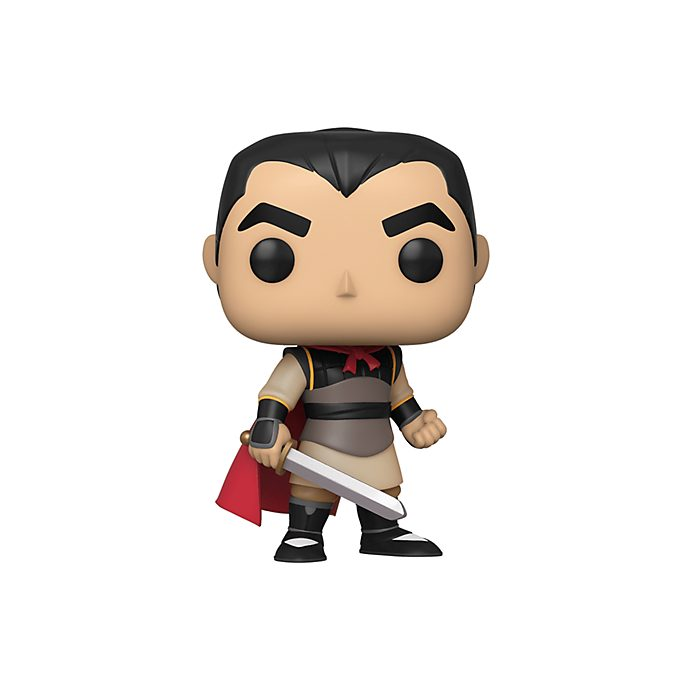 Personaggio in vinile Li Shang serie Pop! di Funko, Mulan