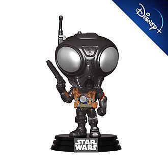 Funko Pop! figura vinilo Q9-Zero, Star Wars: The Mandalorian