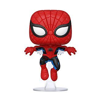 Personaggio in vinile Spider-Man 80° anniversario prima comparizione serie Pop! di Funko