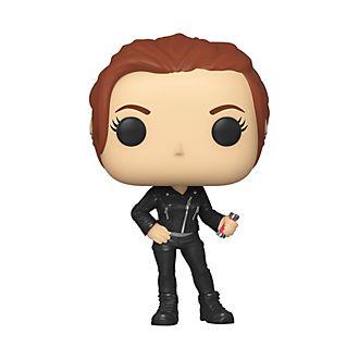 Personaggio in vinile Vedova Nera abbigliamento casual Black Widow serie Pop! di Funko