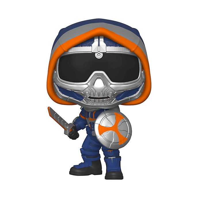 Personaggio in vinile Taskmaster con scudo Black Widow serie Pop! di Funko